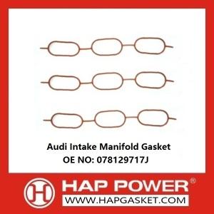 Audi Admissão Manifold Gasket 078129717J