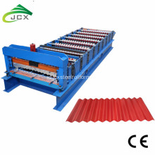 Aluminium corrugated sheet forming machine
