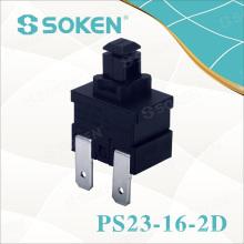 Interrupteur à bouton-poussoir Soken 16A 1 Pole