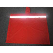 Yj-6072 PVC Impermeável Reflexivo Reusável Rain Ponchos Raincoat
