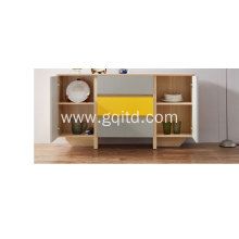 Modern sideboard furniture with drawer wooden storage cabinet