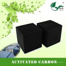 Charbon de charbon actif en nid d'abeilles pour le traitement de l'air dans les filtres à air