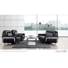 Black PU/Leather Office Sofa
