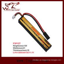 Firefox 11.1V 1200mAh Lipo Li-Po batería Li-Polymer 12 c