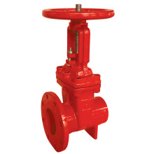 UL/FM 200psi-OS&Y Type Flanged Grooved End Gate Valve (Z481)