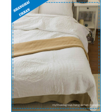 5 Pieces Polyester Bedding Quilt Bed Cover