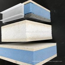 panneau ignifuge évalué de MgO d'oxyde de magnésium d'ENV / XPS SIP de sandwich pour le mur extérieur