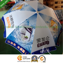 2.2m Outdoor Sun Umbrella with Customized Printed Logos (BU-0048W)