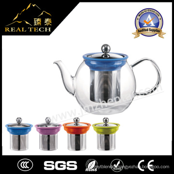 Heat Resistant Glass Teapot for The Gas Stove with Tea Infuser