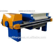 Filtro de pulpa Leo Filtro de pulpa de planta de mármol y prensa de prensa