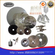Outil de diamant: lame de scie circulaire diamantée pour la coupe: lame de scie