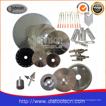 Electroplated Diamond Saw Blade: Grinding and Cutting Tool