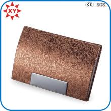 Nouvelle étui de carte de commerce en cuir Deiagn Leather
