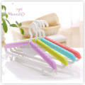 PP Plastic Adjustable Multi-Purpose 2-in-1 Adult/Kids Clothes Hanger