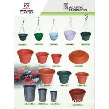 Plastic Flower pot and Hanging Flower pot