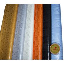 Feitex Promotion damasco shadda bazin riche guinea tela de brocado 100% algodón tela africana barata