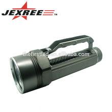 Plongée jusqu'à 100M Gris-Noir 3500LM 4xCREE XML2 T6 Portable 4 cœurs Alliage d'aluminium LED Dive Light