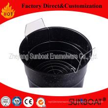 La porcelaine de ménage de Sunboat de pot de stock d'émail 7qt a adapté aux besoins du client