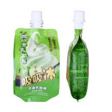 Пакеты для упаковки перерабатываемых соков с носиком