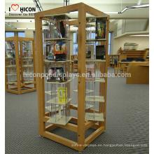 Comience el proceso escuchando a usted Diseño del soporte del piso Tienda Exhibición Muebles Unidades Pantallas