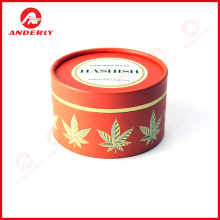 Customized Cosmetic Packaging Round Kraft Box
