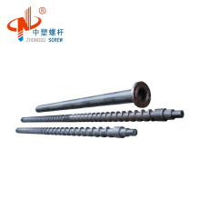 Personalized single bimetallic extruder screw and barrel for high speed