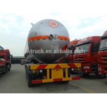 clw brand Big capacity LPG tank semi-trailer, 3 axles lpg tank semi trailer