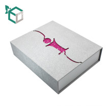 Splitter Bright Starry Pink Shiny Geschenkpapier Box