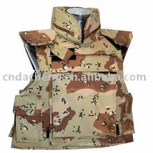 camouflage flak jacket