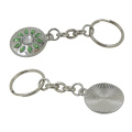 Promotional Wholesale Metal Trolley Coin Key Ring