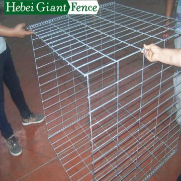 Keupayaan Gabion Anti-erosWelded Hot Dipped Galvanized