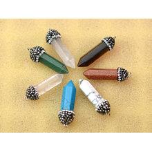 Amethyst Gemstone Pendant Earring Beads