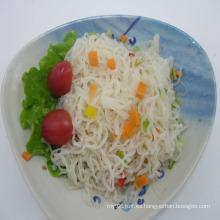 Sin azúcar de fibra dietética Pure Konjac Angel Hair Pasta para diabéticos