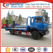 Dongfeng 4 * 2 dimensiones del camión caja, 1-10T camión de plataforma para la venta