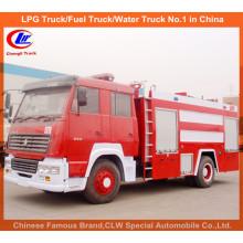 Heavy Duty Sinotruk HOWO 7000 Liter Wasser Schaum Feuer Kämpfen Trucks