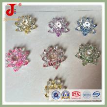 Lustrous Clear Crystal Lotus zum Hochzeitstag (JD-CF-310)