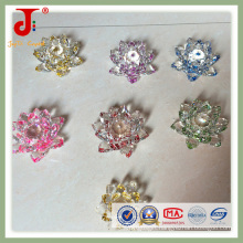 Lustrous Clear Crystal Lotus for Wedding Anniversary (JD-CF-310)
