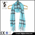 100% acrylic soft wholesale fashion men plain scarf