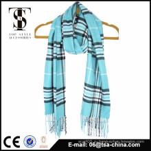 100% акриловый мягкий оптовый мужской простой шарф