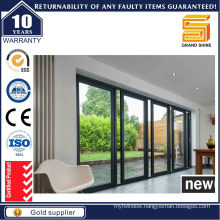 Aluminum Patio Glass Sliding Closet Doors (SD7790)
