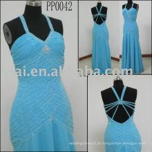 2010 fabricação vestido de festa sexy PP0042