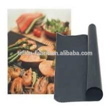 PTFE coated fiberglass Non stick reusable Teflon BBQ grill mat