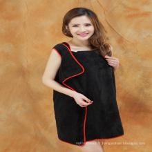 Gros coton serviette robe Alibaba express Chine en gros pas cher Pour porter les femmes robe de bain serviette