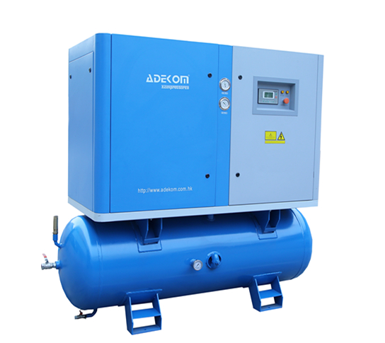 Portable Electric 500L Tank Mounted Air Compressor