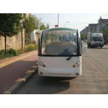 Cheapest Factory for 14 Seat Electric Shuttle Bus Gas powered sightseeing bus for sale export to Belize Manufacturers