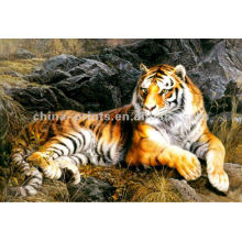 Animal Wall Decor Tiger Canvas Painting
