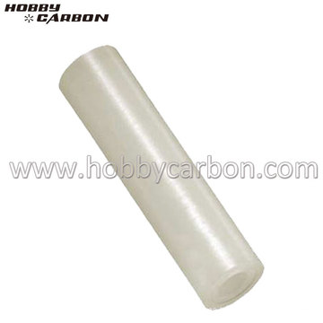 Varilla roscada de nylon redonda y hexagonal ligera