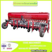 Implementador agrícola Tractor montado 24 filas Plantador de trigo Plantador de trigo Sembradora