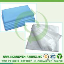 Matériel jetable de feuille de lit médical non tissé