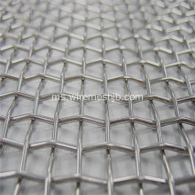 304L Stainless steel Crimped Wire Mesh